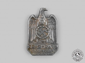 Germany, Third Reich. A 1933 Nuremberg Rally Commemorative Badges