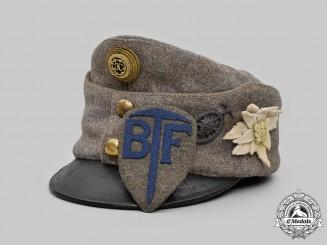 Austria-Hungary, Empire. A Rare Bergführer Officer's Field Cap, with Insignia