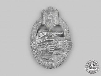 Germany, Wehrmacht. A Panzer Assault Badge, Silver Grade, by Rudolf Karneth