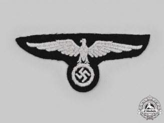 Germany, SS. An Officer's Sleeve Eagle, First Pattern