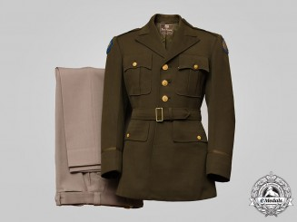 United States. An Army Air Forces 8th Air Force Uniform, by Fenn-Feinstein, New York