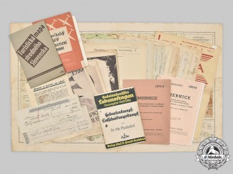Slovakia, Republic; Germany, Third Reich; Czechoslovakia. A Lot of Twenty-Eight Publications and Papers
