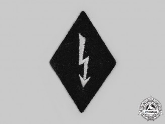 Germany, SS. A SS Signals Personnel Sleeve Diamond