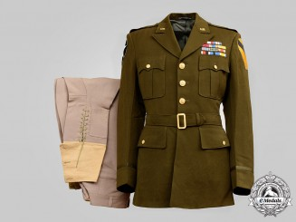 United States. An Army, 2nd Infantry Div, 1st Cavalry Div Brigadier General's Uniform