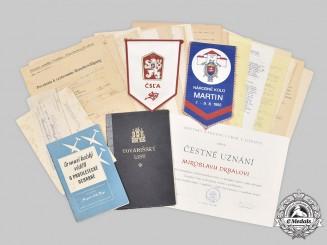 Czechoslovakia, Slovakia. A Lot of Assorted Items
