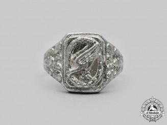 Germany, Luftwaffe. A Fallschirmjäger Badge Ring