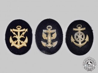 Germany, Kriegsmarine. A Lot of Trade Specialist Sleeve Insignia
