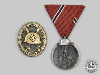 Germany, Wehrmacht. A Pair of Medals