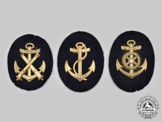 Germany, Kriegsmarine. A Lot of Trade Specialist Insignia