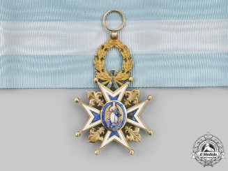 Spain, Kingdom. A Royal & Distinguished Order of Charles III, Commander, c.1920