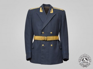Russia, Soviet Union. A Soviet Air Force Colonel's Tunic, with Accoutrements