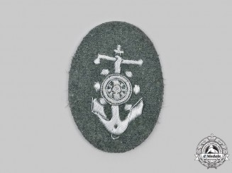 Germany, Heer. A Boat Pilot's Sleeve Insignia