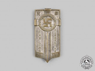 Germany, NSDAP. A 1932 Inaugural Reich Youth Day Badge, by Ferdinand Hoffstätter