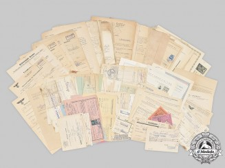 Slovakia, Republic; Germany, Third Reich; Czechoslovakia, Republic. A Lot of Eighty-Six Assorted Papers