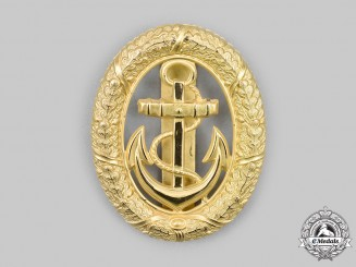 Germany, Federal Republic. A Naval Officer of the Watch Badge, c. 1950