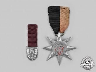 Netherlands, NSB. A Pair of Dutch National Socialist Movement Medals