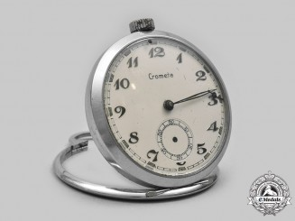 Germany, Third Reich. A Convertible Pocket Watch, by Crometa