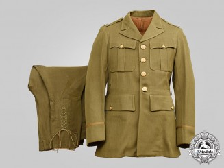 United States. An Army Captain's Cavalry Uniform, English Made, c.1944