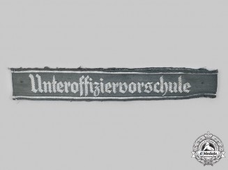 Germany, Heer. AN NCO Training School Cuff Title