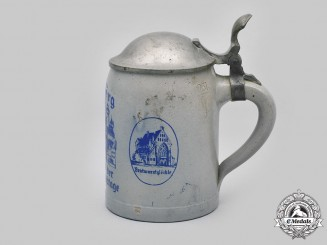 Germany, Third Reich. A Nuremberg Rally Stein