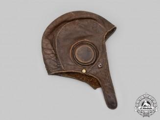 Slovakia, Republic. A German-Made Slovak Air Force Flying Helmet, 1940
