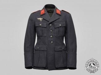 Germany, Luftwaffe. A Flak/Artillery Flieger's Service Tunic, by Lippische Uniformfabrik