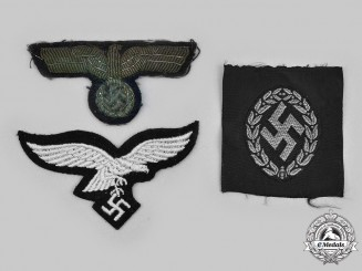 Germany, Wehrmacht. A Lot of Cap Insignia