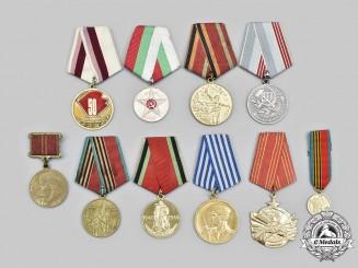 Bulgaria, Russia, Ukraine, Yugoslavia. A Lot of Ten Awards
