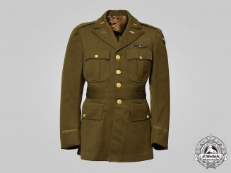United States. An Army Air Forces Tunic with Wings, c.1945