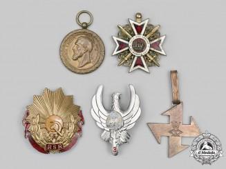Romania, Kingdom, Socialist Republic, People's Republic. A Lot of Five Awards
