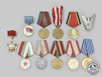 Bulgaria, Poland, Romania, Russia, Yugoslavia. A Lot of Eleven Awards