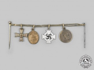Germany, Wehrmacht. A Miniature Medal Chain