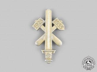 Germany, Third Reich. A Gau Essen Honour Badge, Gold Grade, by Ferdinand Hoffstätter