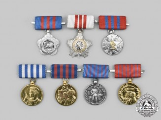 Yugoslavia, Socialist Federal Republic: A Lot of Seven Miniature Awards