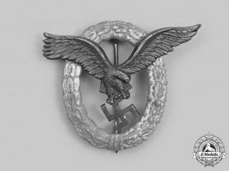 Germany, Luftwaffe. A Pilot's Badge, by Friedrich Linden