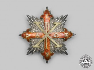 Italy, Kingdom of the Two Sicilies. A Sacred Military Constantinian Order of St. George, I Class Grand Cross, c.1915