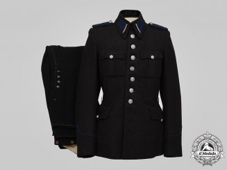 Netherlands, Occupied State. A Royal Netherlands Marechaussee Uniform, c.1942