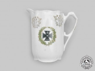 Germany, Imperial. A First War Iron Cross Patriotic Creamer