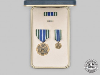 United States. An Army Achievement Medal with Case