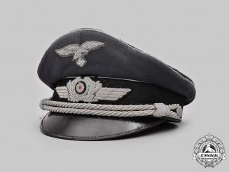 Germany, Luftwaffe. An Officer's Visor Cap, by Deutsche Wertarbeit
