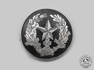 United Kingdom. A Cameronians (Scottish Rifles) Sweetheart Badge, 1916