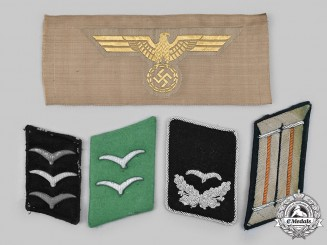 Germany, Wehrmacht. A Lot of Uniform Rank Insignia