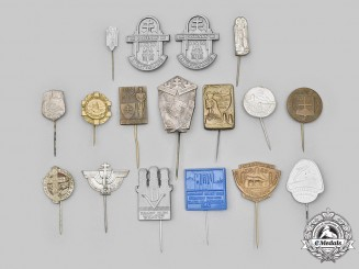 Slovakia, First Republic. A Lot of Commemorative Stick Pins