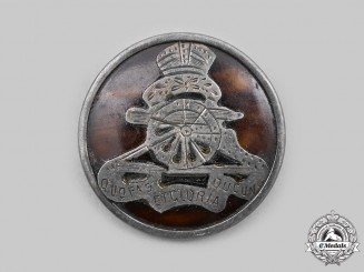 United Kingdom. A Royal Artillery Sweetheart Badge, c.1916
