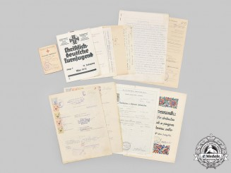 Slovakia, Republic; Germany, Third Reich. A Lot of Fifty-One Assorted Papers