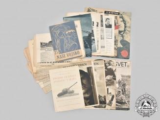 Slovakia, Republic; Germany, Third Reich. A  Lot of Twenty-Five Publications