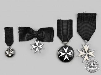 United Kingdom. A Lot of Four Order of St. John Awards