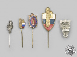 Slovakia, First Republic. A Lot of Pins
