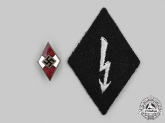 Germany, Third Reich. A Pair of Insignia