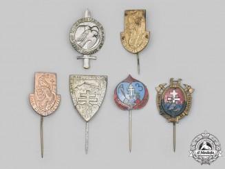 Slovakia, I Republic. A Lot of Commemorative Badges